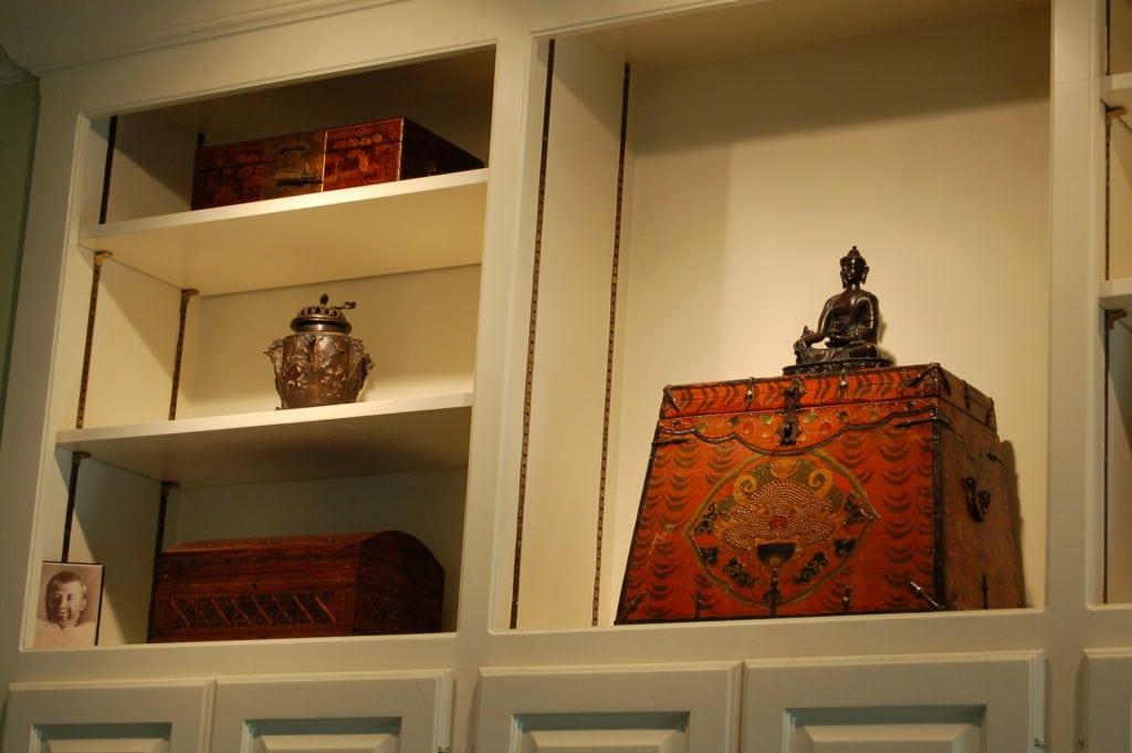 Tibetan Box Integral Design Consultant Lorell Frysh of Buckhead, Atlanta, GA