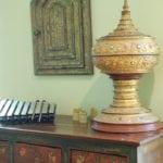 Tibetan Chest Thai Alter Box Integral Design Consultant Lorell Frysh of Buckhead, Atlanta, GA